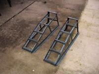 pair of car ramps