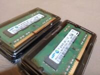 SAMSUNG ORIGINAL 8 GB RAM (4GB X 2) DDR3L SDRAM - SO-DIMM 204-pin For LAPTOP