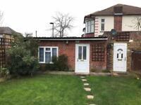 Ground Floor Annex Studio Flat with Garden and own Entrance & Front Door.