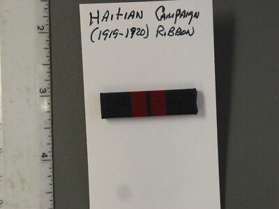 Institute of Heraldry (TIOH) sample, Haitian Campaign (1919-1920) Ribbon Bar,new