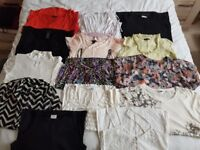 Ladies top bundle size 10 tops x 14