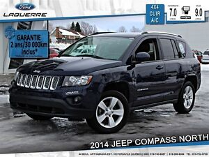 2014 Jeep Compass **NORTH*4X4*CUIR*AUTOMATIQUE*CRUISE*A/C**