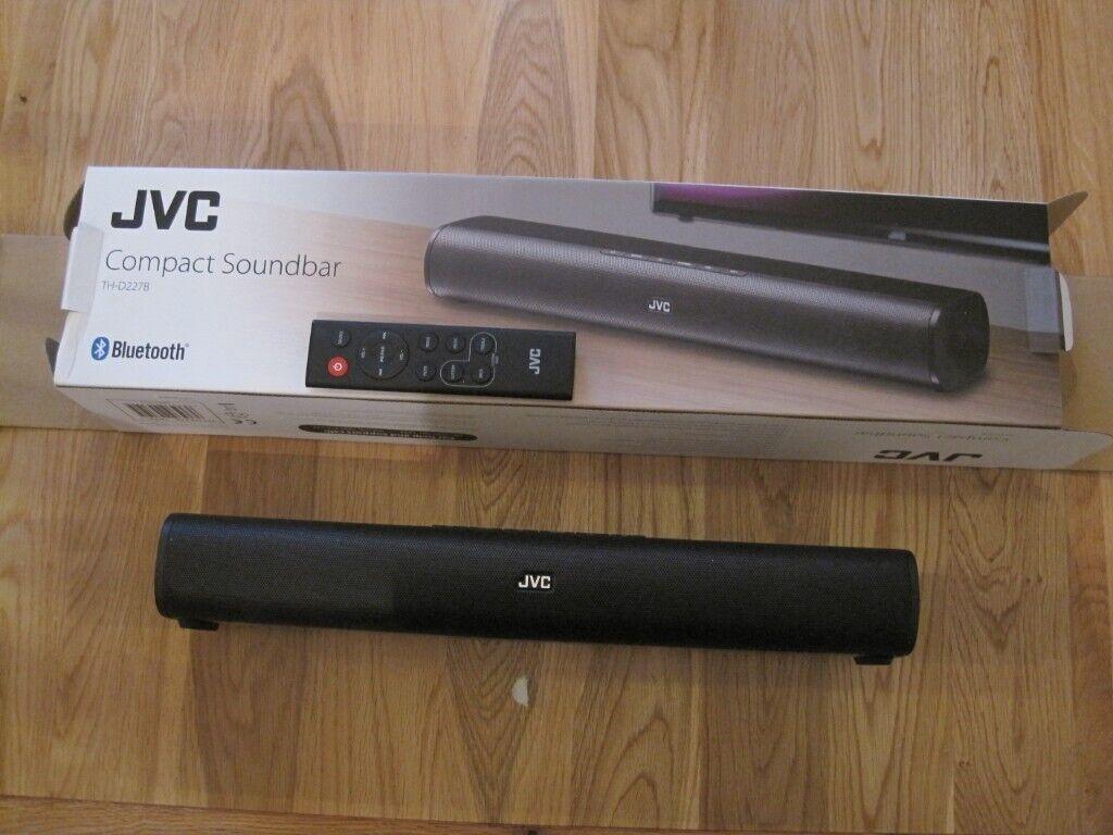 JVC Compact Sound Bar