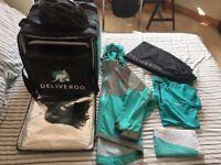 Deliveroo equipment