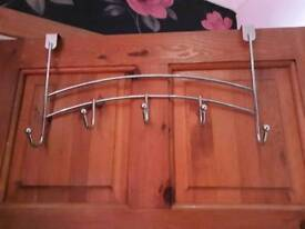 2 Over the door hangers