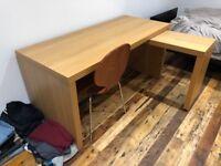 Stunning sold wooden desk