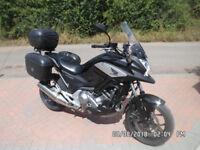 Honda NC700 X DCT. Full Hard Luggage. A fantastic all-rounder motorcycle.