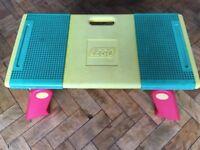 Vintage Lego Storage Table