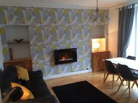 Bright and spacious 1 bedroom Ground Floor Flat for rent.