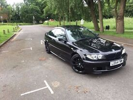 BMW 3 Series E46. 320cd M Sport. Angel lights +Sunroof (very rare) with dual exhaust.