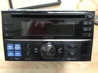 Alpine Double Din CD/Radio/Bluetooth In Car Radio