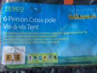 Six person tent