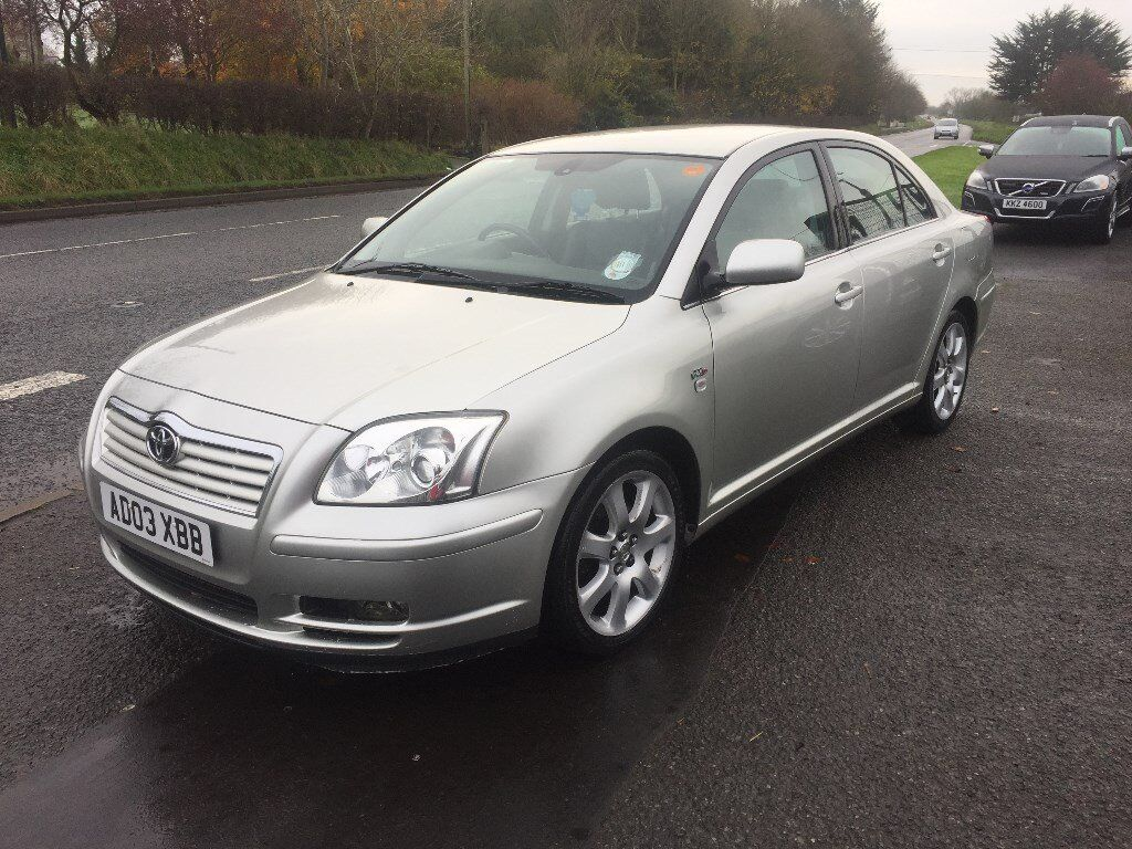 2003 Toyota Avensis d4d T-Sprint Mot to Apr 2018