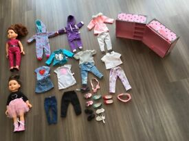 Children's play buggies/Dolls and Dolls Outfits