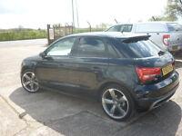 AUDI A1 2.0 TDI Black Edition Sportback 5dr (black) 2014