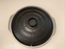 Large Bulgogi BBQ pan Semicircle Oval shape 30 Cm