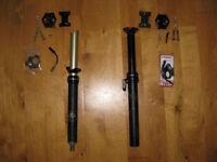 KS LEV dropper posts - choice of 2 - internal or external - 125mm x 30.9
