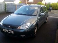 2001 FORD FOCUS 1.6 WITH MOT DRIVING WELL