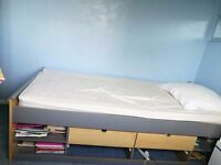 **MAKE AN OFFER** Single bed with storage