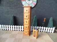JALI SHESHAM TALL CHEST OF DRAWERS WITH 5 DRAWERS EXTREMELY SOLID UNIT