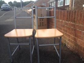 2 x chairs
