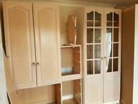 MFI Fitted wardrobes x 3 with extras