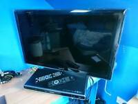 Samsung 32 inch LED tv with dvd player