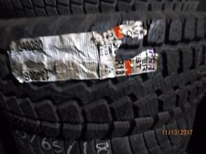 275/65R18 SINGLE ONLY NEW TEMPEST WINTER TIRE