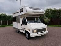Fiat ducato hymer camp 46 4 berth camper van motorhome cassette toilet lhd