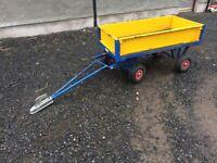 Ride on lawnmower/ quad trailer