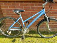 "Ladies 17"" frame claud butler mountain bike"