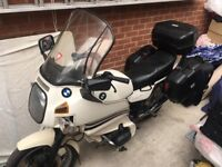 BMW R80 RT Touring Boxes