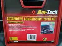 Automotive compression tester kit.