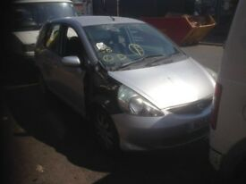 2002-2008 HONDA JAZZ IN SATIN SILVER PAINT CODE NH623M BREAKING FOR PARTS MANUAL