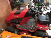 Countax Garden tractor and 3 attachments