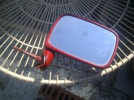 Ford Fiesta Mark Mk 2 XR2 (or any model) 83 - 87 Offside (Drivers) Door mirror - good condition