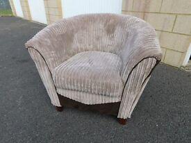 DFS Bexley Bucket Style Armchair