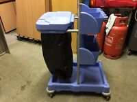 NUMATIC CLEANERS TROLLEY / JANITORS TROLLEY