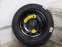 2016 MK7 Mk8 FORD FIESTA 14 inch Steel Wheel with new hankook 175/65/14 tyre