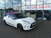 2012 55 CITROEN DS3 1.6 E-HDI AIRDREAM DSPORT PLUS 3D 111 BHP **** GUARANTEED FINANCE ****