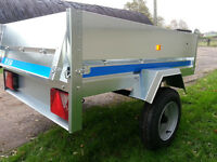 New Maypole General Purpose Trailer with High Frame & Cover