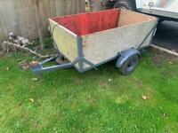 5ft by 3ft box trailer