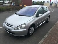 PEUGEOT 307 2004 61000miles MOT March 2019 (3 owners from new)