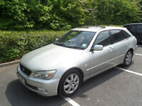 Lexus is200 SportCross Navigator Spares or Repair Starts and Drives