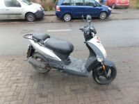 2011 kymco agility 50cc 4 stroke scooter moped not 125cc