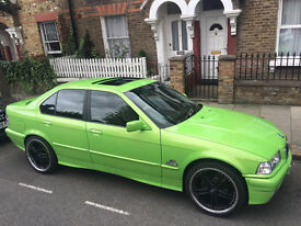 BMW 316 I SE Auto- Green- 1.6 Petrol- 4 Door Saloon