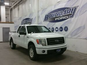 2010 Ford F-150 Supercab STX W/ JVC Stereo, Body Color Bumpers