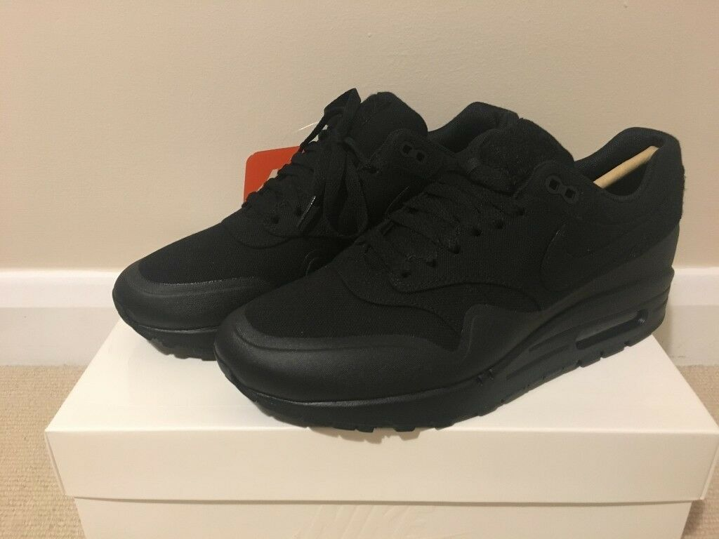best service bf80d 6f00f Brand New UK7 Air Max 1 Black Patch £135(Nike Supreme Air Max Bape Yeezy  Kanye Adidas Puma Huarache)