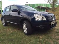 2008 Nissan Qashqai 1.6 Patrol Excellent Condition Low MOT and Tax 78k miles Full Service History