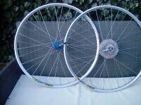 Mountain bike wheels....hope mavic